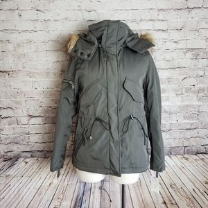 Urban Outfitters S13 Military Moss Trapper Jacket